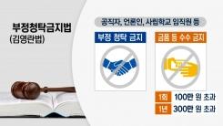 김영란법 시행 한달 전...대가성·직무관계성 구분은?