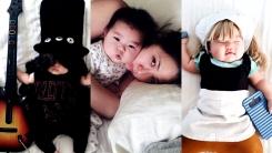 [영상] 잠들 때마다 귀여운 캐릭터로 변신하는 아기