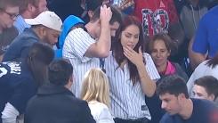 [영상] 야구장에서 프러포즈 하려다 벌어진 일