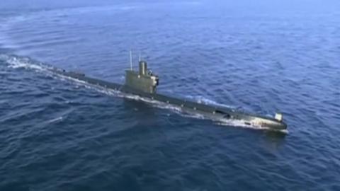 """""""北, 고래급보다 큰 신형 잠수함 건조 추정"""""""