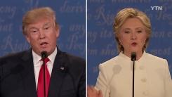 """트럼프, 선거결과 불복 시사...힐러리 """"민주주의 폄하"""""""