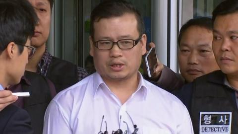 법원 출석한 '총격범' 성병대, 기자들 질문에 '횡설수설'