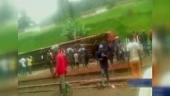 카메룬 열차 탈선 사고로 53명 사망