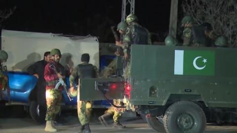 파키스탄 경찰대학 총격 테러 60여 명 사망