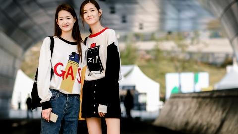 서윤-서현, 쌍둥이 모델의 리얼 트윈룩!