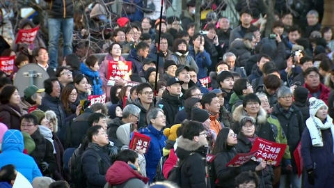 박근혜 대통령 탄핵안 가결…친박 폐족 수순