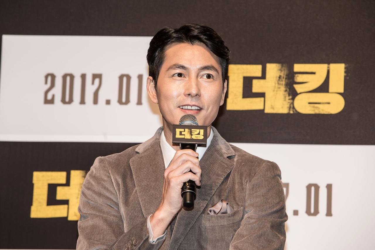 '더 킹' 정우성이 밝힌 '김기춘·우병우 모티브설'