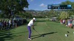 토머스, 36홀 123타로 PGA 최소타
