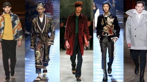 2017 F/W 남성복 컬렉션, YG케이플러스 男모델들의 활약상