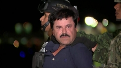 멕시코 '마약왕' 구스만, 미국으로 인도돼