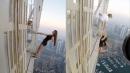 '사진이 뭐길래'…307m 초고층 빌딩에 매달린 모델