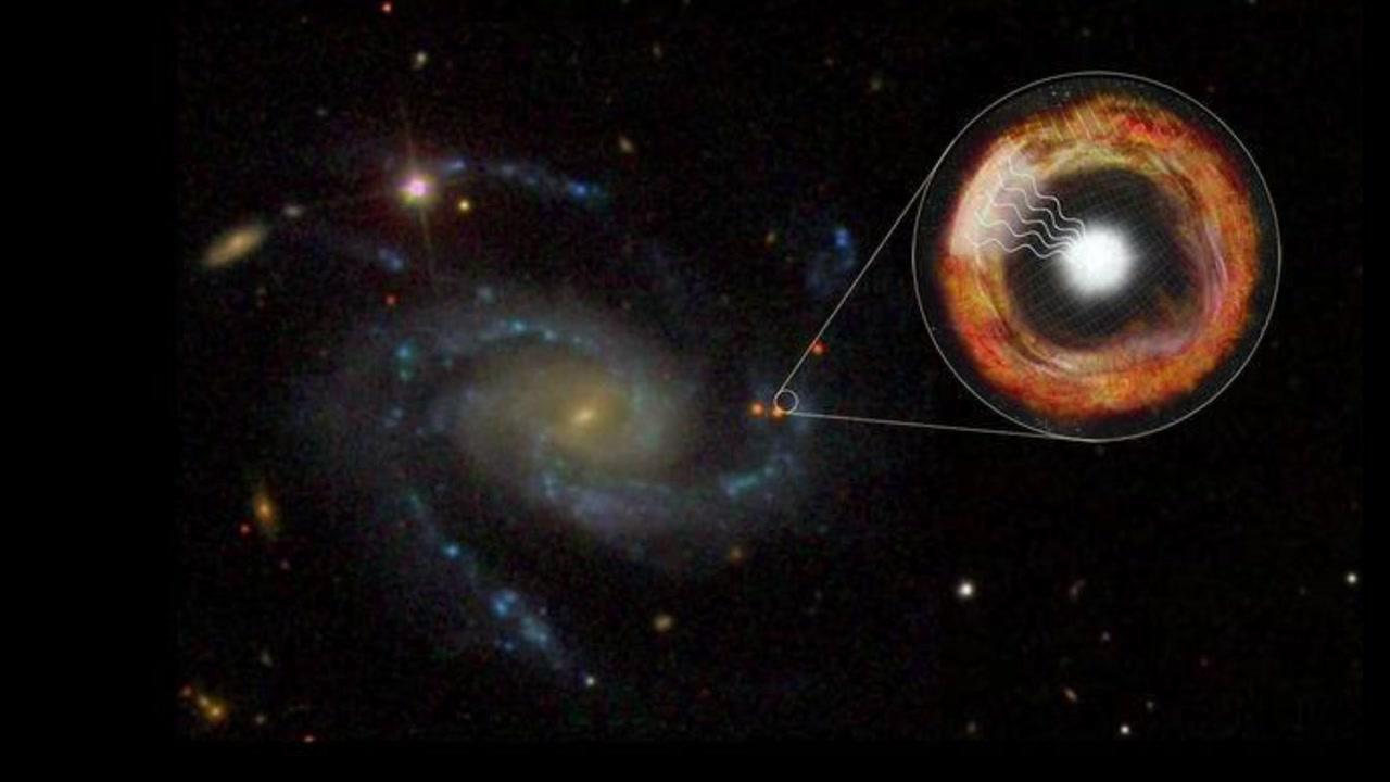 초신성 폭발 3시간 만에 관측...'행운'