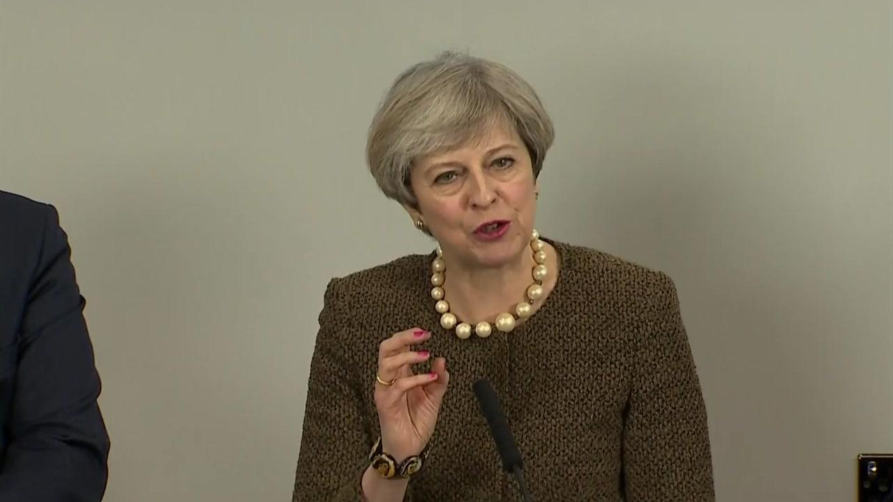 영국, 오는 29일 브렉시트 협상 개시 통보