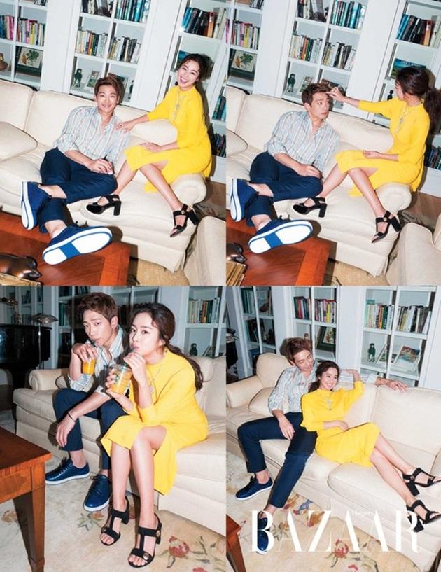 비♥김태희, 화보 추가 컷 공개…알콩달콩 케미 과시