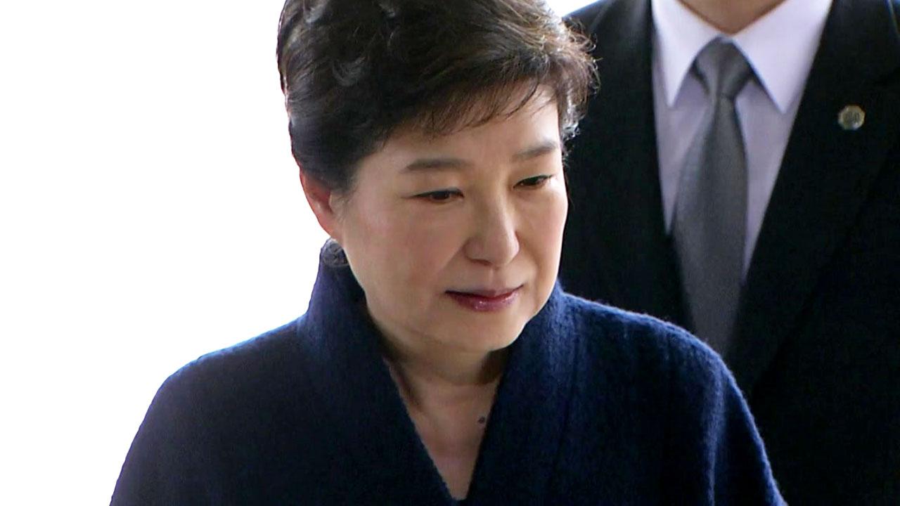 박 前 대통령, 점심 먹으면서 변호인에게 한 말