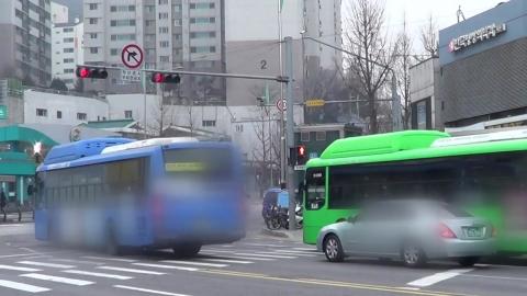 '도로의 무법자' 버스, 봄철 집중 단속
