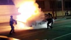 [좋은뉴스] 폭발 위험에도 차량 화재 진압 나선 경찰