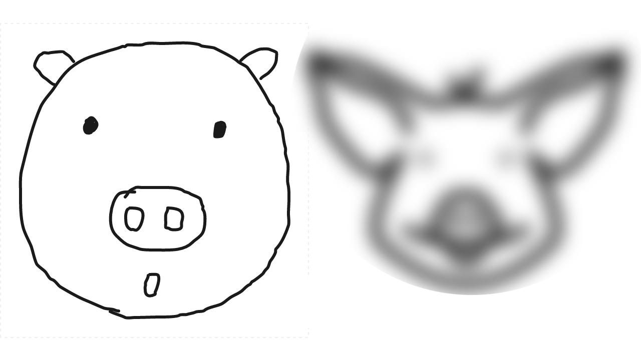 """""""참 쉽죠?"""" 낙서를 그림으로 바꿔주는 구글의 신기술"""