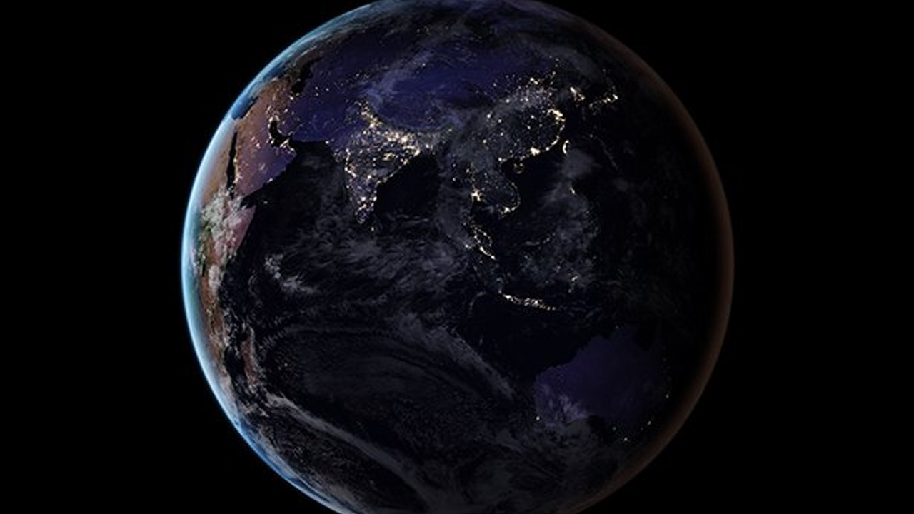 NASA가 공개한 '지구의 밤', 그리고 대한민국