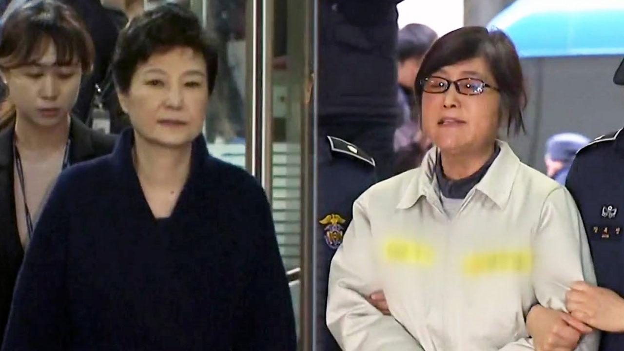"""""""박 전 대통령, 최순실 언니와 최순실 입국 시기 조율"""""""