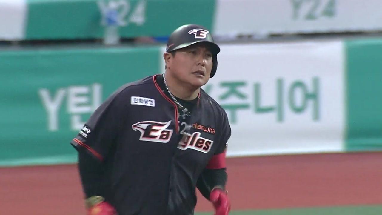 김태균, 63경기 연속 출루 타이기록