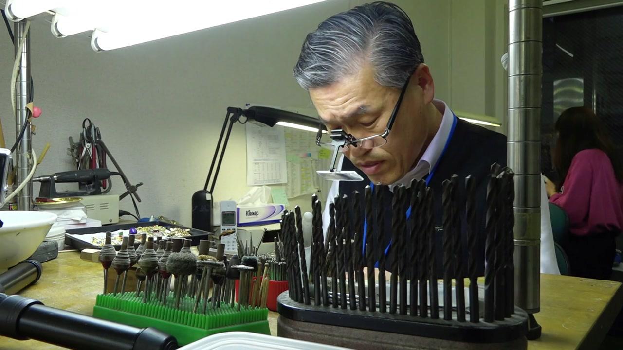 일본 귀금속 시장 장악한 '금관의 후예'