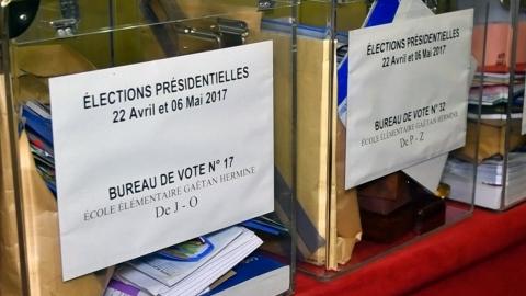 프랑스 대선 1차 투표 시작…테러 경계 대폭 강화