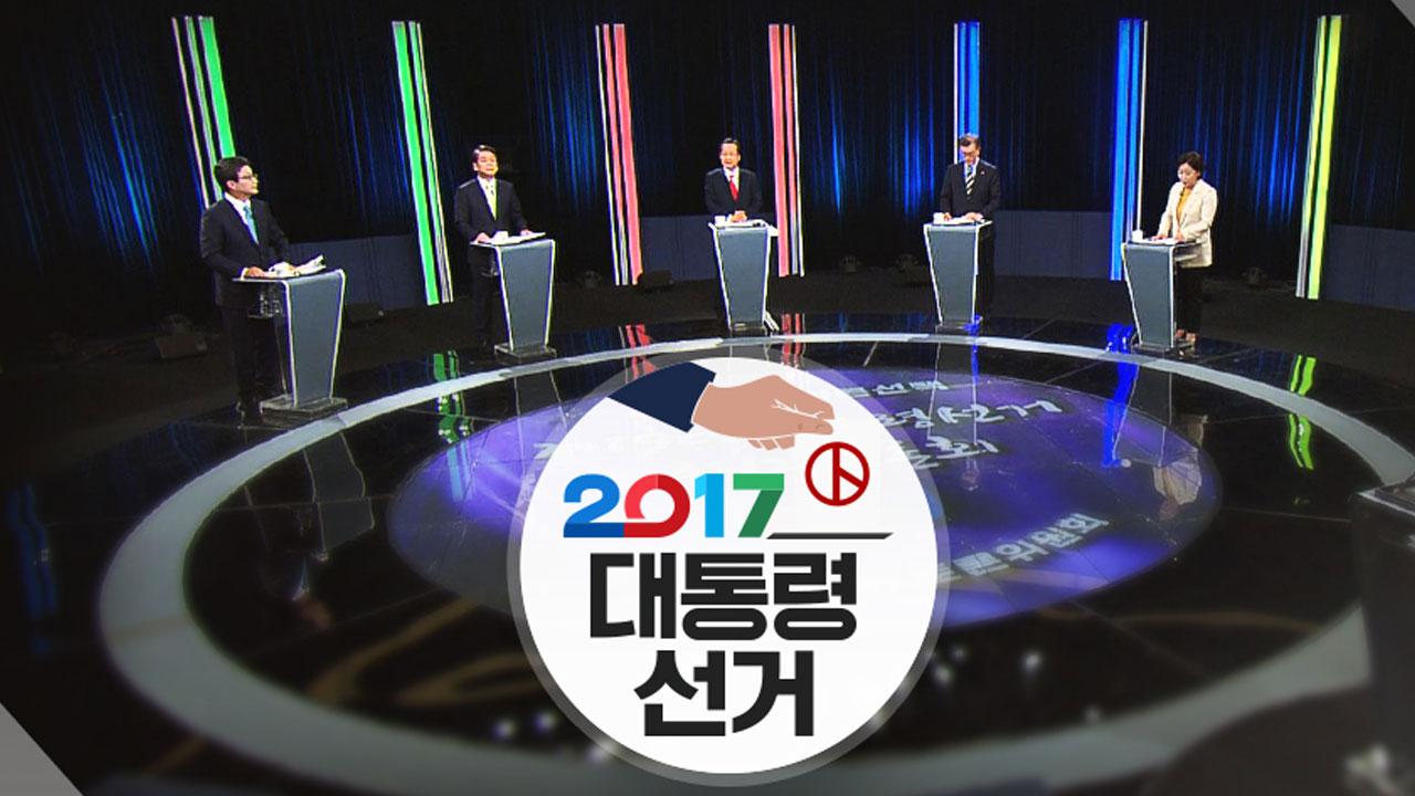 '北 결의안 논란' 난타전…홍준표 후보 사퇴 요구도