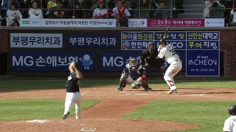 '최주환 환상 더블플레이' 두산을 구한 명품수비