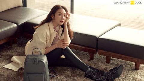 배우 최지우, 만나리다넉과 함께한 라이프 스타일 화보 공개!