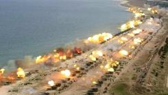 北 역대급 포 사격 공개...한미 대규모 화력훈련으로 경고