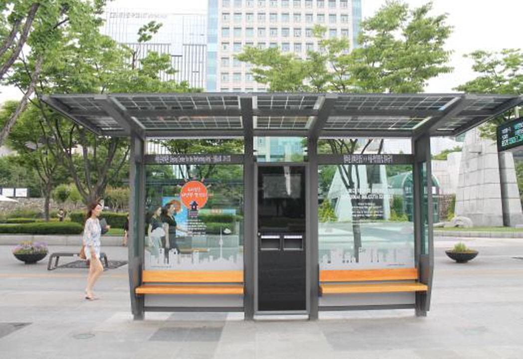 〔안정원의 디자인 칼럼〕 도시의 공공 공간이 태양광 특화로 디자인된 화려한 옷을 입다