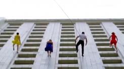 [지구촌생생영상] LA 시청 건물에서 재연된 영화 '라라랜드'