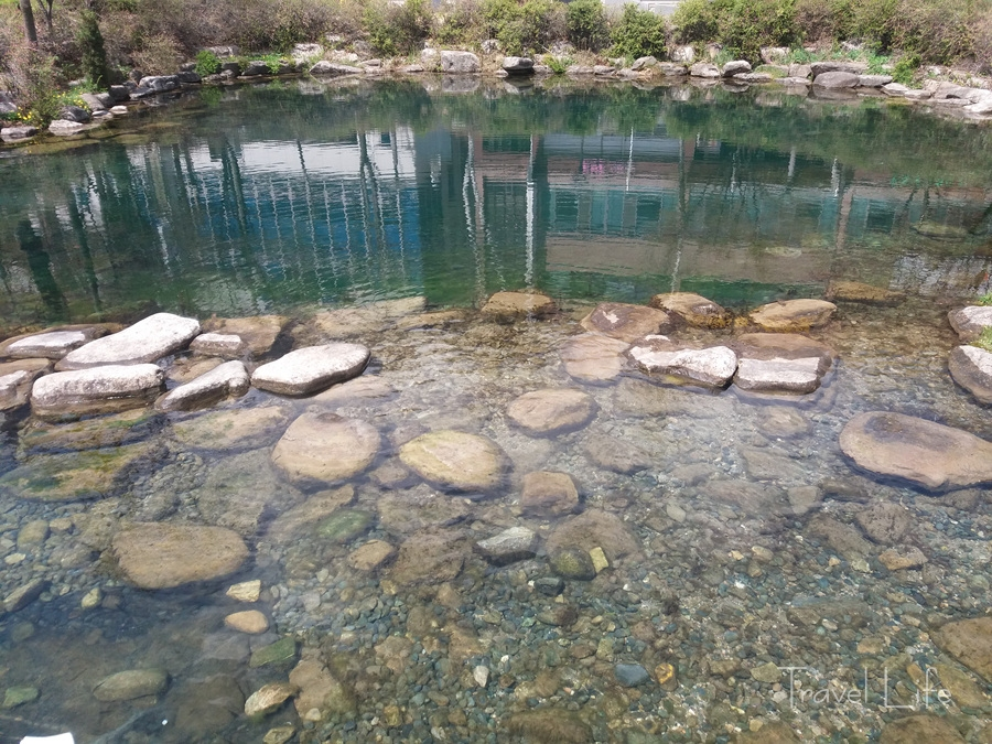 태백시 황지연못, 낙동강 1300리가 시작되는 곳