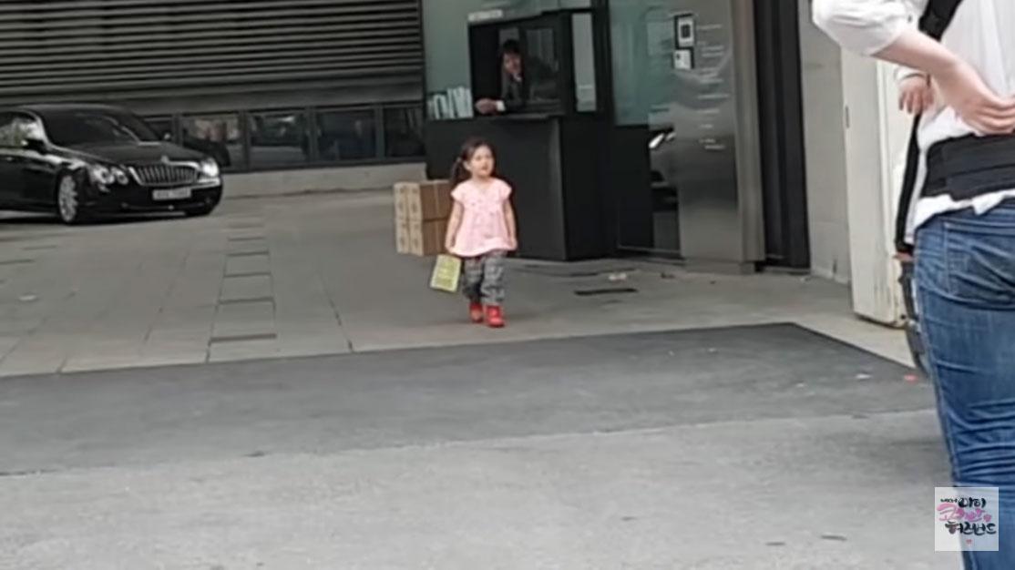"YG 경비원에게 ""빅뱅 있냐""고 묻는 4살 어린이"