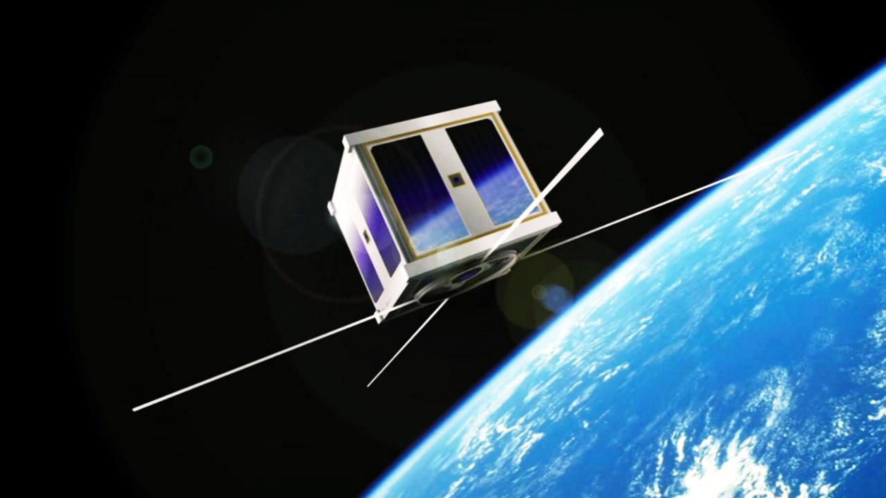 대학생이 만든 10kg 짜리 '큐브위성' 우주 간다