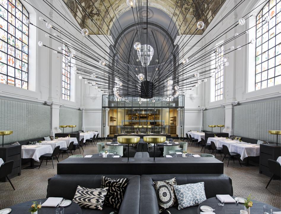 〔안정원의 디자인 칼럼〕 오래된 교회를 최고급 레스토랑으로 탈바꿈시킨 사려 깊은 디자인