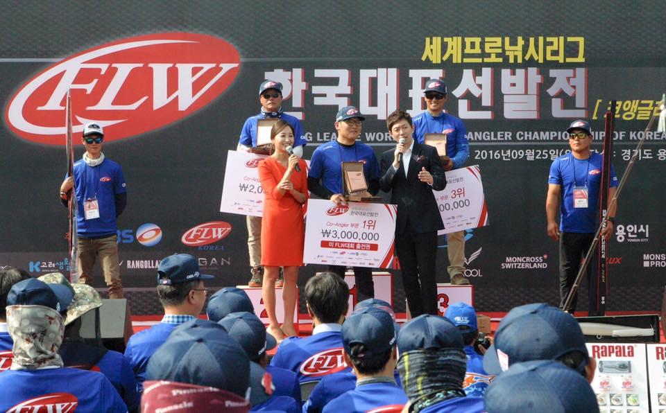 2017년 FLW 한국대회 출전 선수 전원, 美 FLW 앵글러·코앵글러 선수로 정식 등록