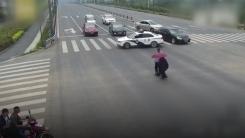[영상] 경찰이 8차선 도로를 막아선 따뜻한 이유