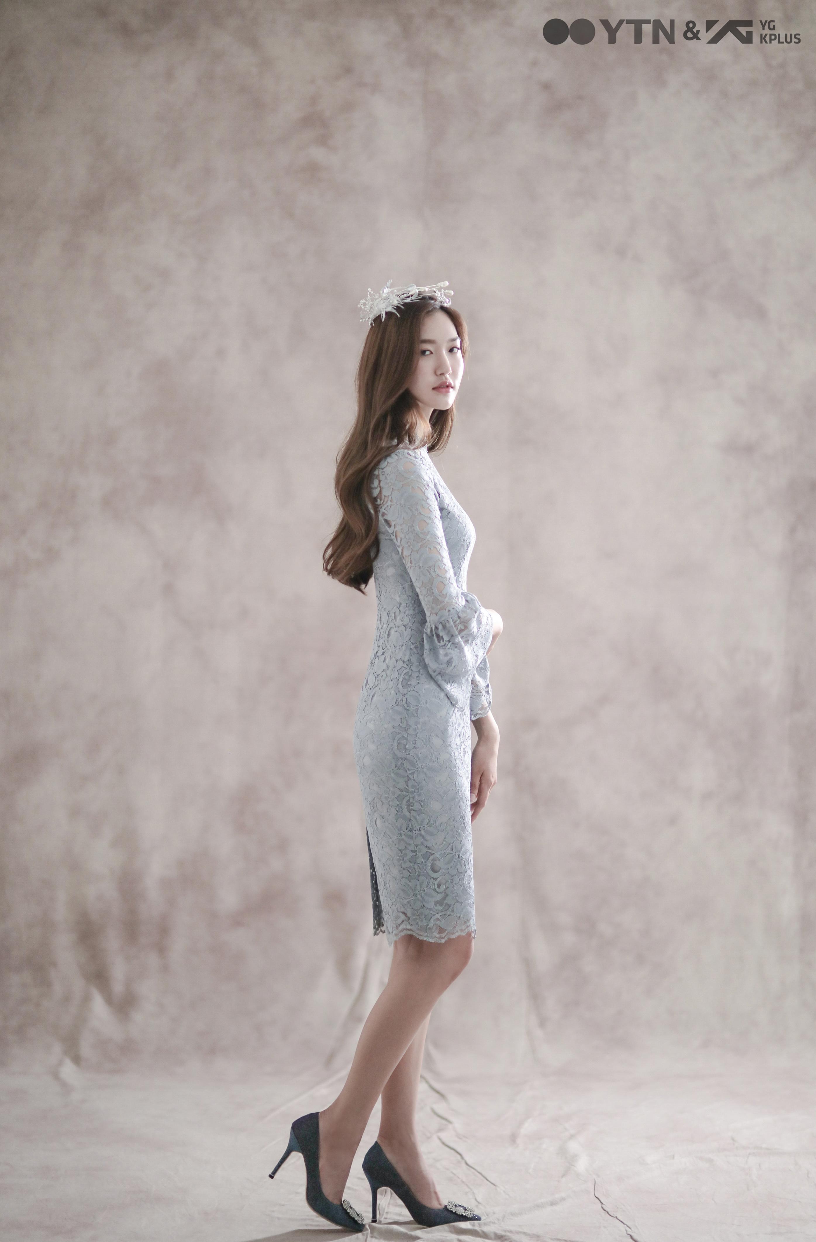 5월의 신부로 변신한 모델 손채아!