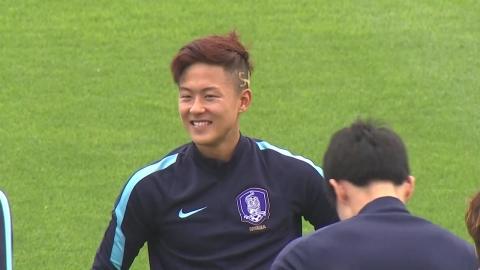 """신태용 감독 """"이승우 백승호 잉글랜드전 휴식"""""""