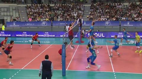 한국, 월드리그 2차전서 슬로베니아에 패배