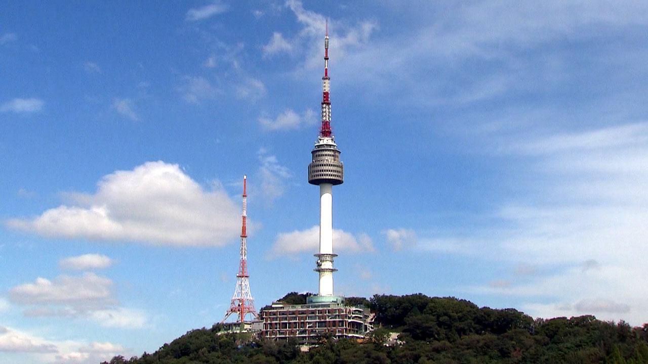 사진-유커 검색 1위 '서울타워'
