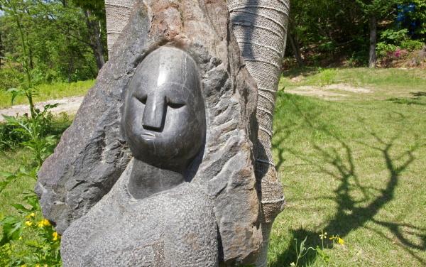 [포토에세이-아프리카예술박물관] 생각의 그림자