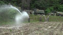 [취재N팩트] 공공기관·기업체 물 지원...가뭄 지역에 '단비'
