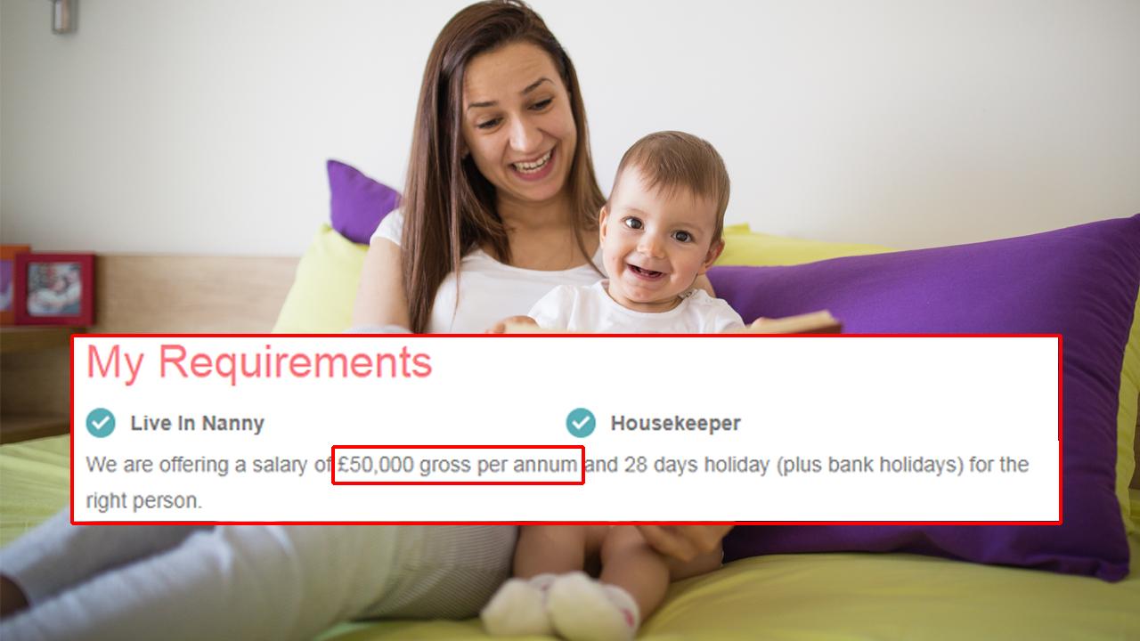 연봉 6,300만 원의 육아도우미를 구하는 이유