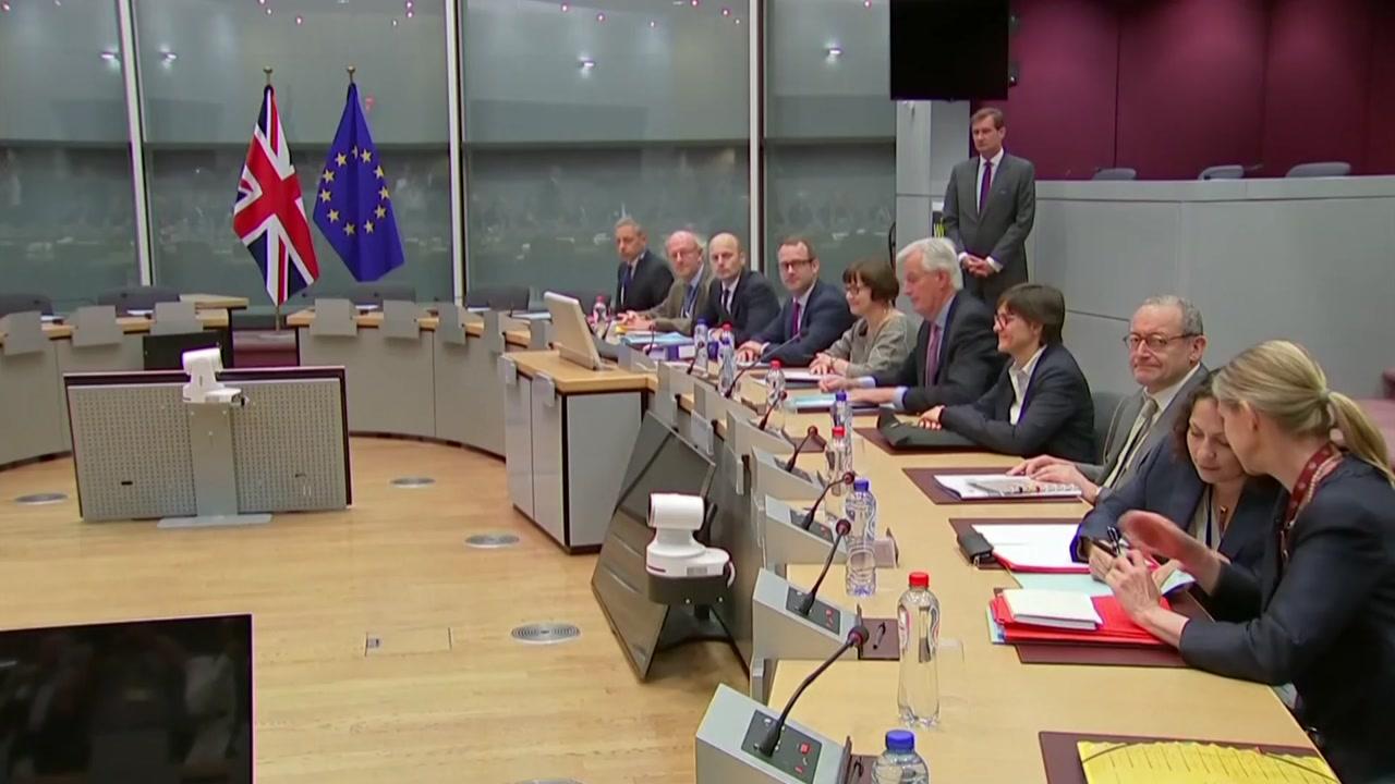 영국·EU, 브렉시트 협상 시작...3개 의제 합의