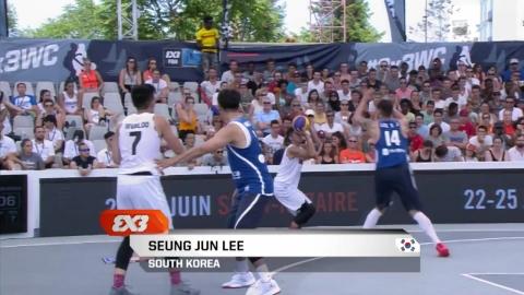 '올림픽 정식종목' 3대3 농구, 값진 첫걸음