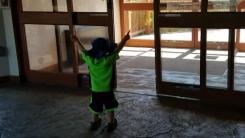 [영상] '열려라 참깨!'...마법사 된 소년