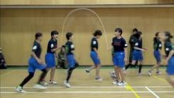 1분에 225회...'단체 줄넘기' 세계 기록 초등학생들
